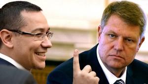 Lupta dintre palate continua – Iohannis acuzat de Ponta
